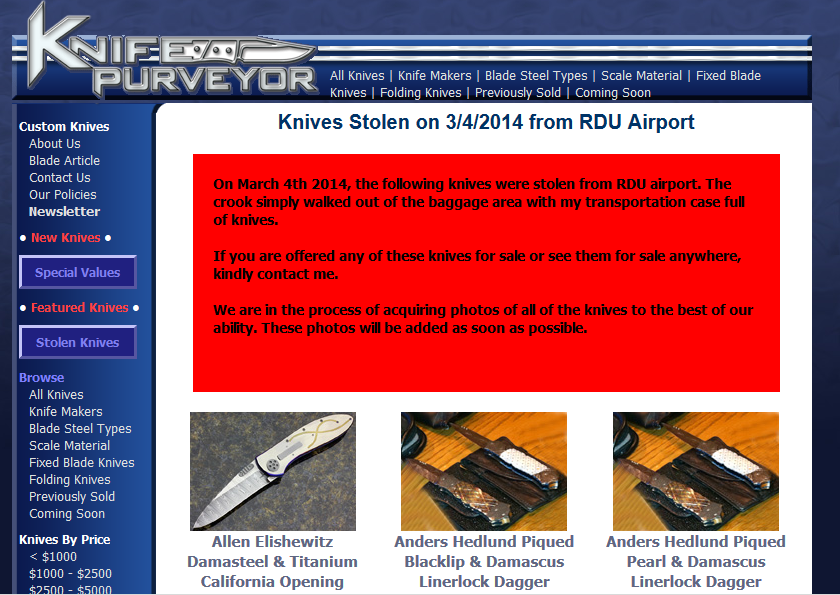 knife purveyor.com