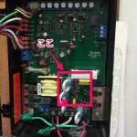 バーキングの100V-200V変更方法