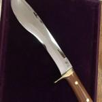 ハードなキャンプに使うために作ったカスタムナイフ
