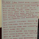 2017年ブレードショーのナイフコンテストの決まりについて