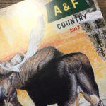A&F 2017年版カタログに相田義人が掲載されました