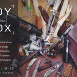 """茨城県でナイフのグループ展"""" TOY & BOX """" が開催されます"""