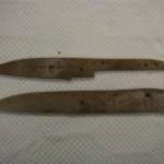 ハーフタングのナイフを作る①
