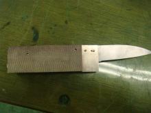 ナイフ小僧のブログ-ここまで完成