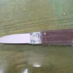 ハーフタングのナイフを作る⑥