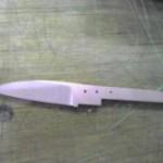 ハーフタングのナイフを作る⑦