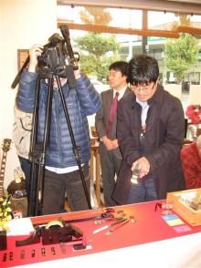 ナイフ小僧のブログ-テレビ取材