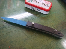 ナイフ小僧のブログ-ヒルトレス ボルト