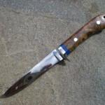 素晴らしい自作ナイフ作品の写真を頂きました
