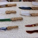 パワーストーンのナイフ 北林竹二氏個展が開催されます