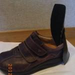リュウマチの方のための靴べらをカイデックスで自作